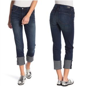 NWT STS Blue Lucia High Rise Straight Cuffed Jeans